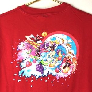 Hanes Sonic men's red graphic t-shirt size XL